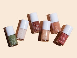 Olive & June's new fall 2020 nail polish collection features a newly trendy mossy green