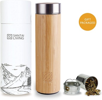 Santai Living Bamboo Water Bottle