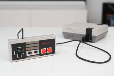 I used this official NES controller to play my classic Nintendo games.