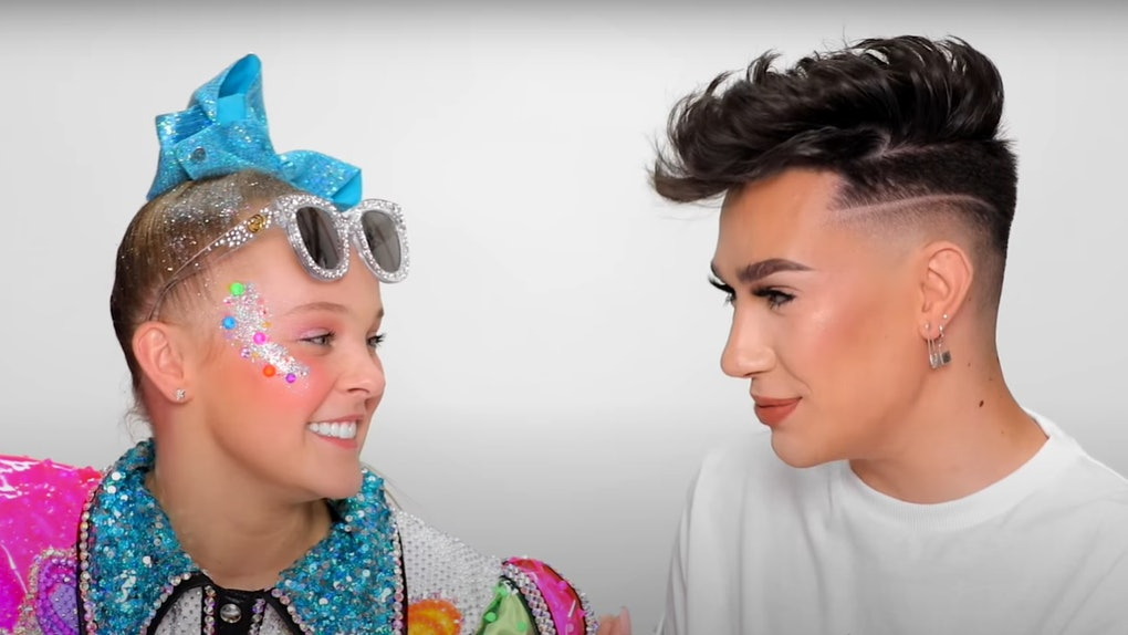 James Charles' makeover of JoJo Siwa is blowing up on Twitter.