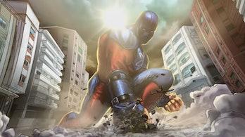 Black Adam Atom Smasher
