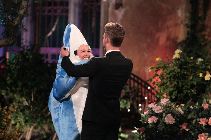 Alexis Waters on The Bachelor via the ABC press site