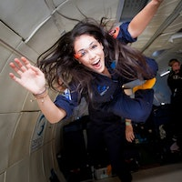 Kellie Gerardi might be the first social media star in space