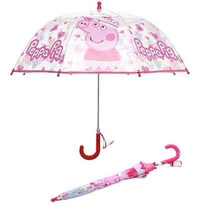 Peppa Pig Clear Bubble Umbrella