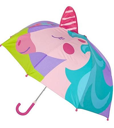 Little Girls' Pop Up Umbrella Unicorn