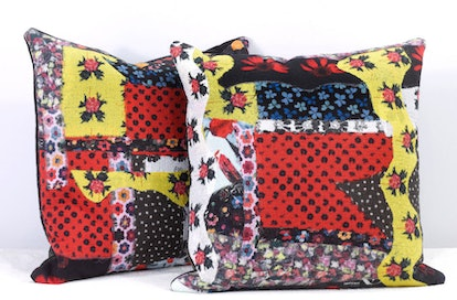 Fabric Felted Pillows