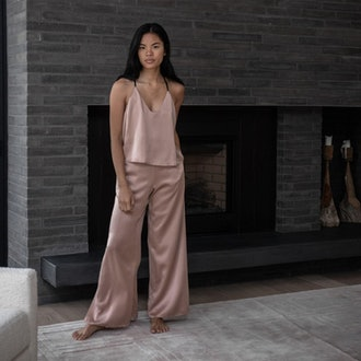 Washable Silk Cami Pant Set