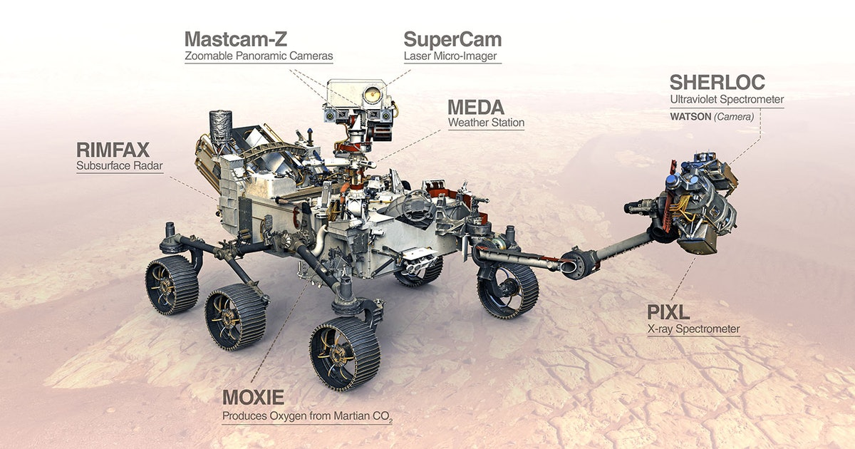 Watch NASA's Perseverance rover journey to Mars in real time
