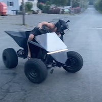 Tesla Cyberquad: Watch the mind-blowing fan-made ATV hit the roads
