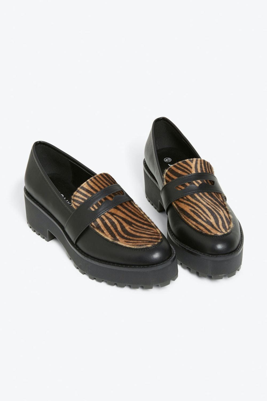 Chunky Platform Loafers