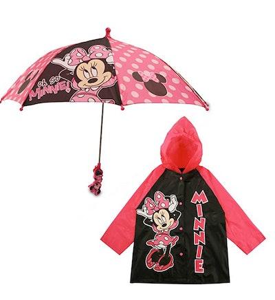 Disney Umbrella and Slicker Set