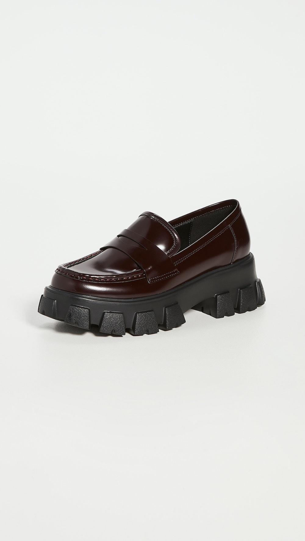 Phoebe Lug Sole Loafers