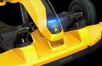 Lamborghini made a go-kart in partnership with Xiaomi.