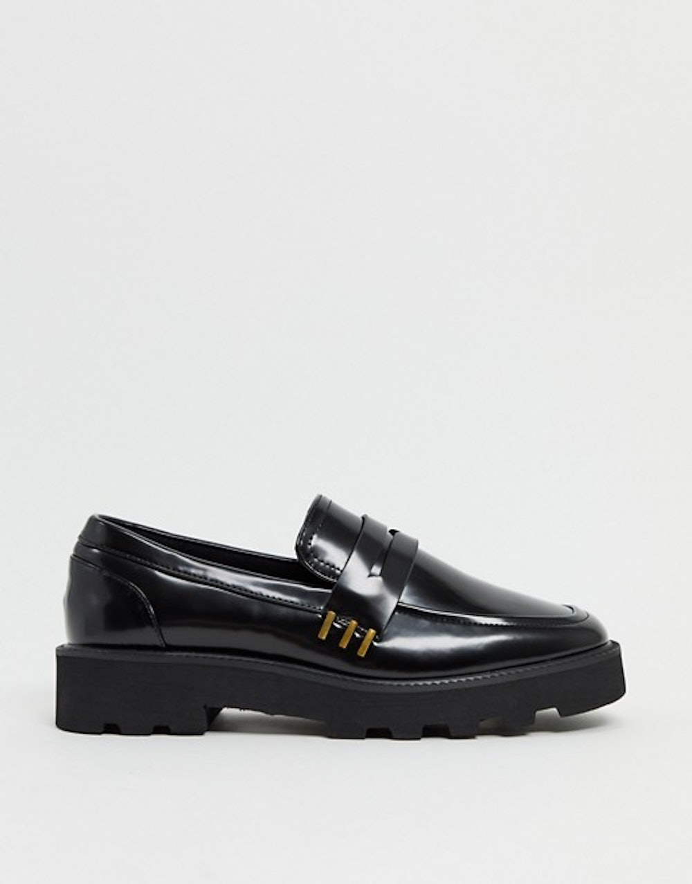 Mistie Chunky Square Toe Loafers