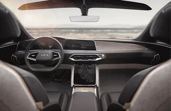 Lucid Air electric vehicle.