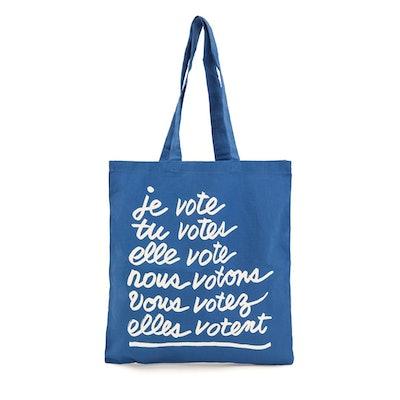 Clare V x When We All Vote Canvas Tote