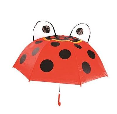 18 Inch Rainy Day Ladybug Umbrella