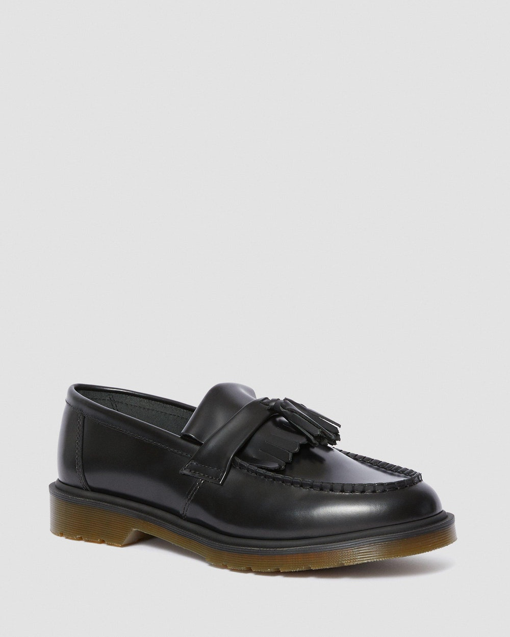 Adrian Smooth Leather Tassle Loafers