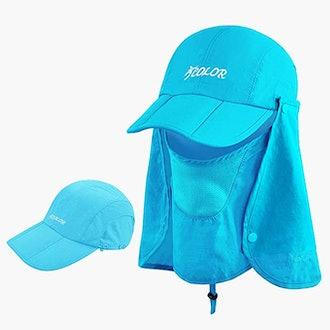 ICOLOR Sun Cap Fishing Hat