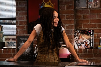 Zoe Kravitz in Hulu's High Fidelity.