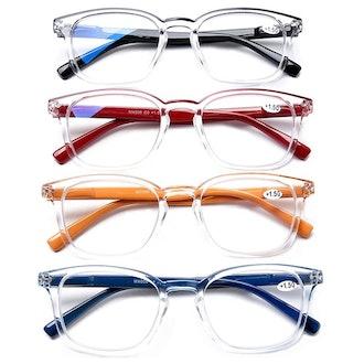 AQWANO Blue Light Filter Reading Glasses