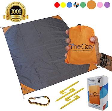 TheCozy Adventures Compact Beach Blanket