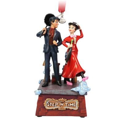 Mary Poppins & Bert Singing Hanging Ornament