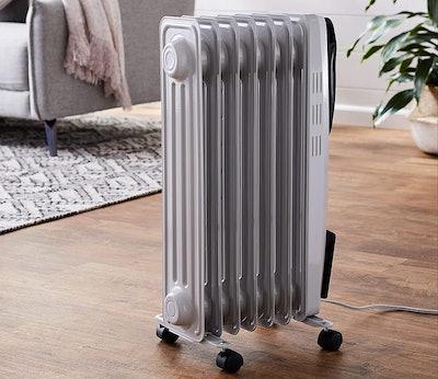 AmazonBasics Indoor Portable Radiator Heater