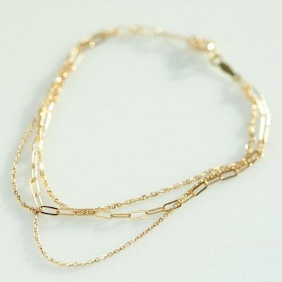 Spun Gold Bracelet