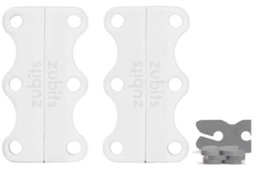 ZUBITS Magnetic No Tie Shoelace Clips