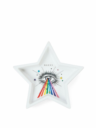 Multicolor Star Eye Star-Shaped Trinket Tray