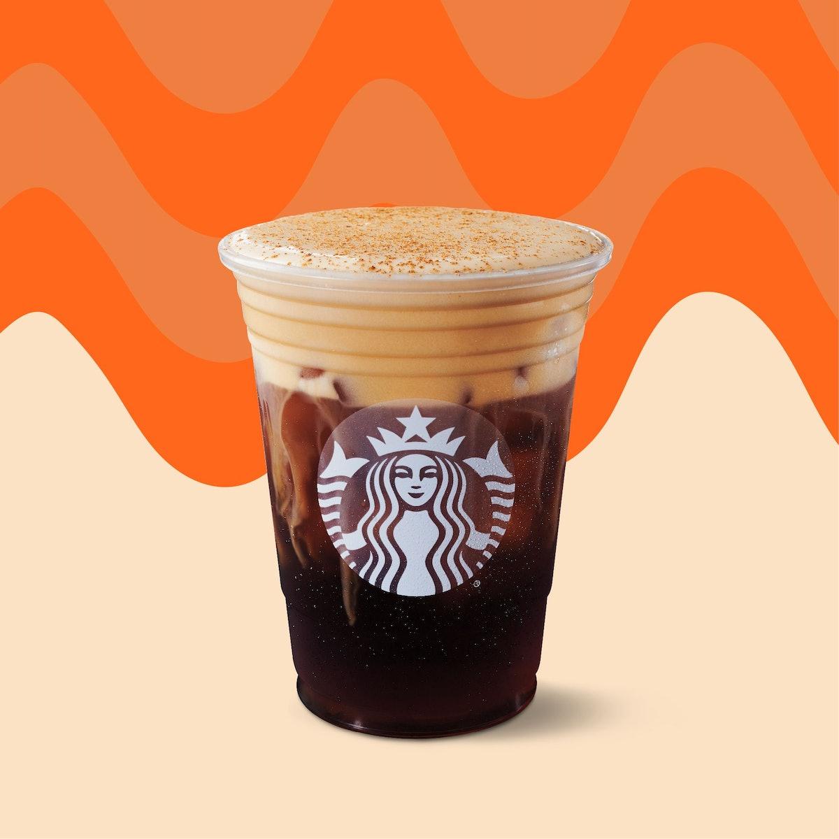 Starbucks' Pumpkin Cream Cold Brew is coming back so soon.