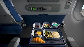 Ahh, dry, tasteless airplane food!