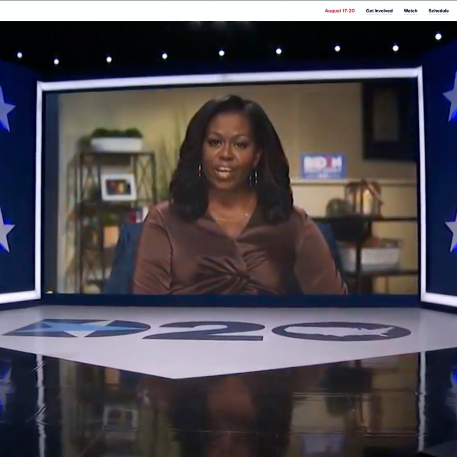 Michelle Obama at 2020 Democratic National Convention