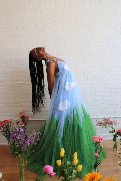 Lirika Matoshi Glass Slipper Gown
