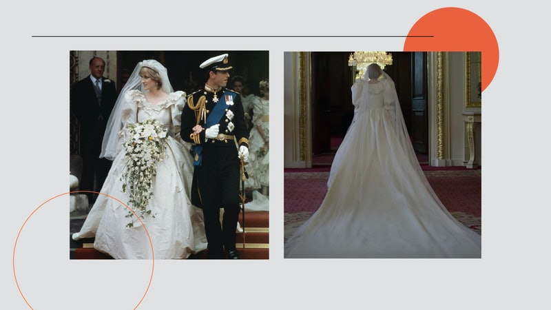 Princess Diana wedding gown recreated on Netflix's The Crown by Emma Corrin