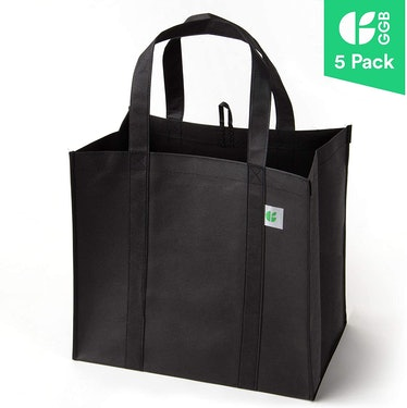 GoGreenBags Reusuable Grocery Bags (5-Pack)