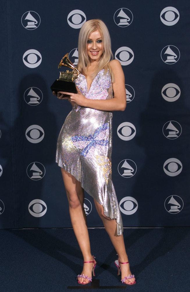 Christina Aguilera at the 2000 Grammys.