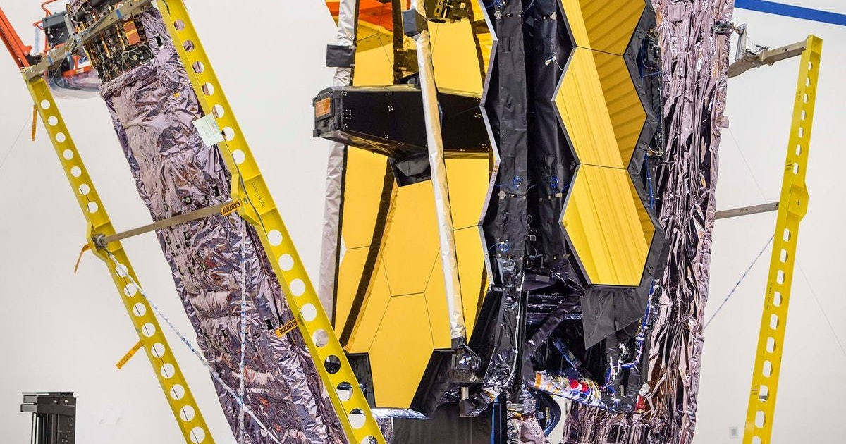 NASA's James Webb Telescope just cleared a major hurdle before launch