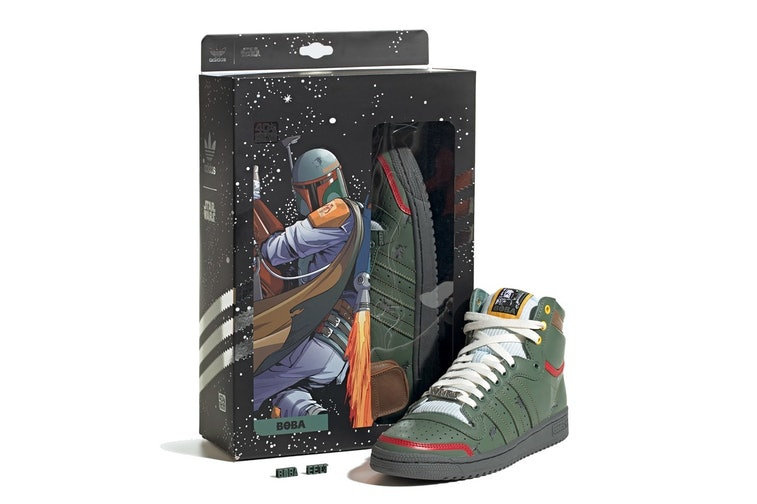 Luna Acelerar donde quiera  The 'Star Wars' Boba Fett sneaker you've been waiting for is here