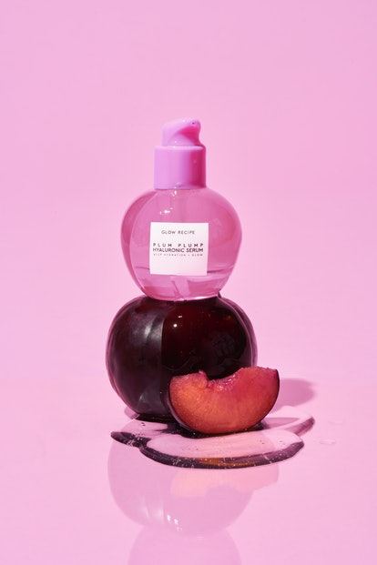 Plum Plump Hyaluronic Serum has a mix of three different types of plums in its formula.