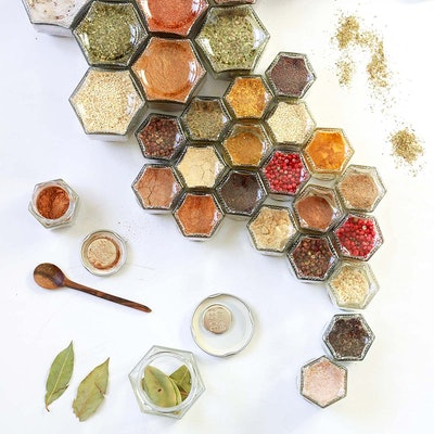 Gneiss Spice Magnetic Spice Jars (10-Pack)