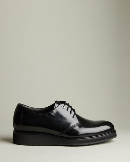 Menara Wedge Leather Derby Shoe