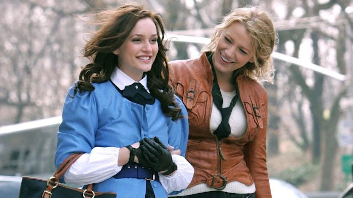 Blair and Serena in the original 'Gossip Girl'