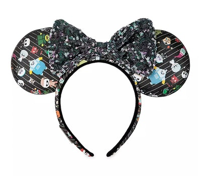 'The Nightmare Before Christmas' Minnie Mouse Ear Headband by Loungefly