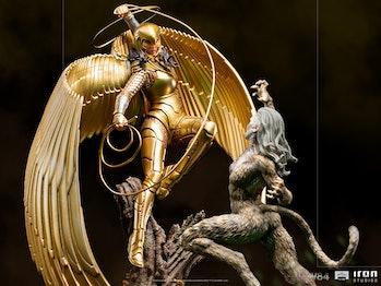 Wonder Woman 1984 Statues