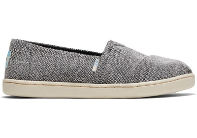 REPREVE Black Soft Heather Knit Youth Classics