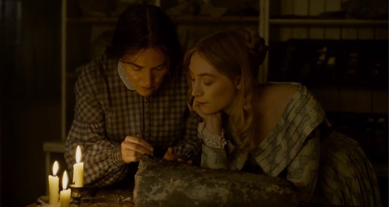 Saoirse Ronan and Kate Winslet star in 'Ammonite' about 17th century scientist Mary Anning.