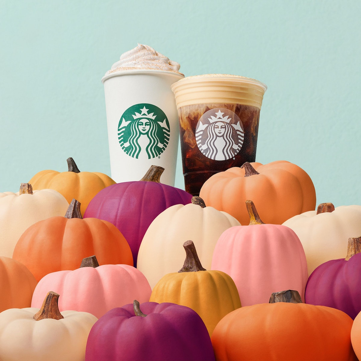 Twitter is freaking out about the return of Starbucks' Pumpkin Cream Cold Brew, which it first intro...