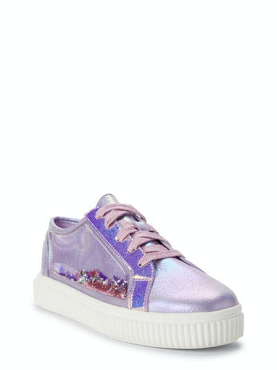 Wonder Nation Confetti Party Low-Top Court Sneaker